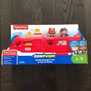 FisherPrice Little People Friendly Passenger Train